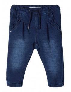 Pantalón bebé punto jeans